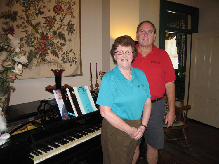 Innkeepers Mike and Mary